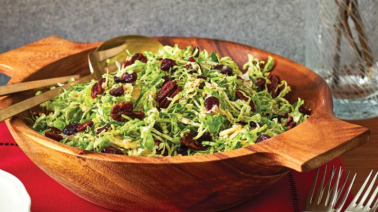 Make-Ahead Brussels Sprout Slaw with Maple Vinaigrette