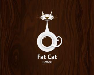Fatcat Coffee logo.