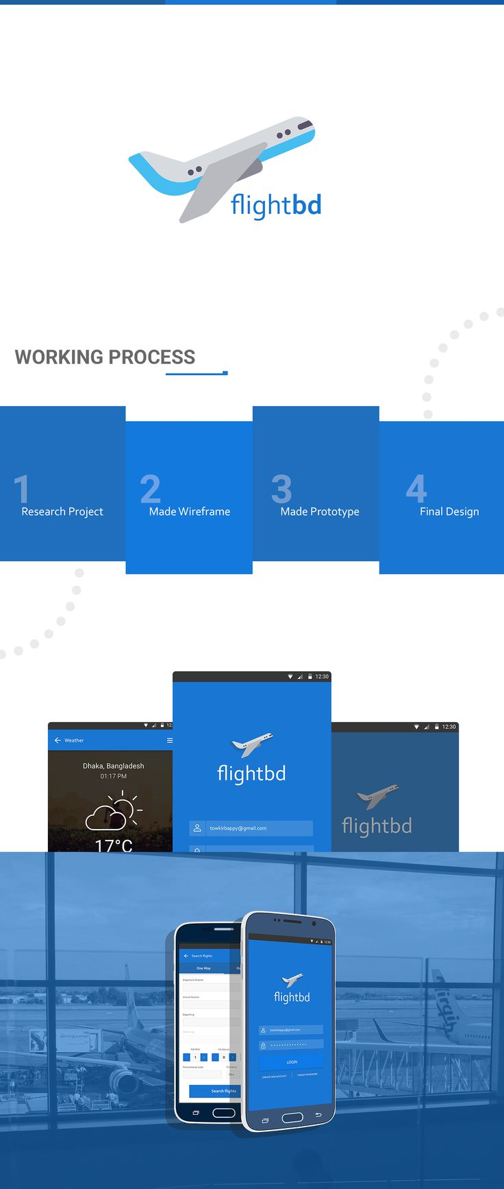 Flightbd - Flight booking app design concept on Behance