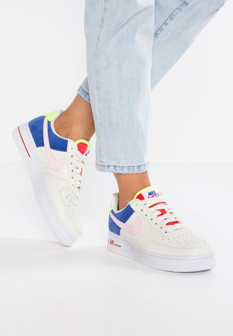 wholesale dealer 1381b b8aad Nike Sportswear AIR FORCE 1 - Sneakers laag - sailarctic pinkracer blue -  Zalando.nl
