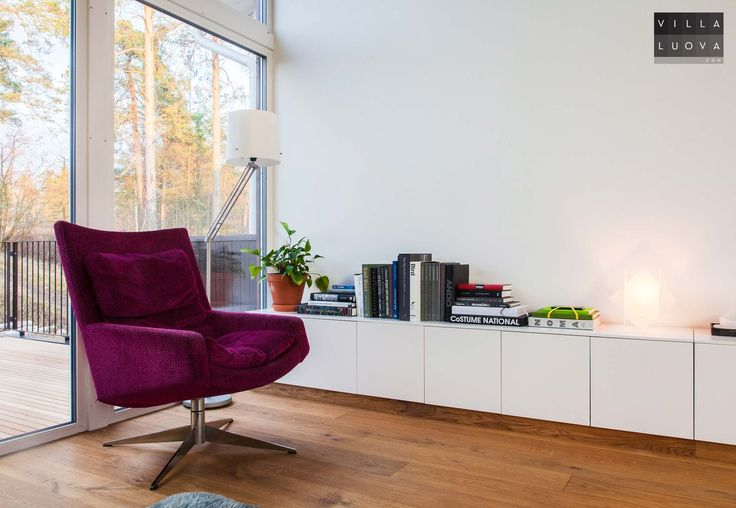 Reading nook - Ikea hack, 7 meter long sideboard from Metod kitchen cabinets