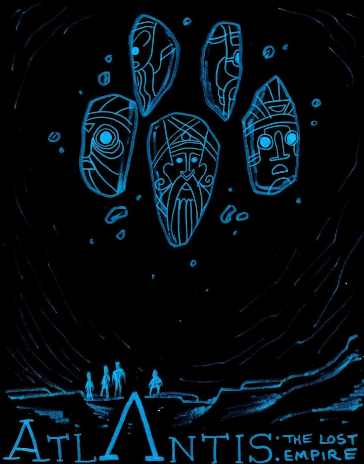 Atlantis: The Lost Empire by NicolasRinear.deviantart.com on @deviantART. Check out our review of Atlantis: The Lost Empire here: http://chaptersandscenes.wordpress.com/2014/02/09/the-family-reviews-atlantis-the-lost-empire/