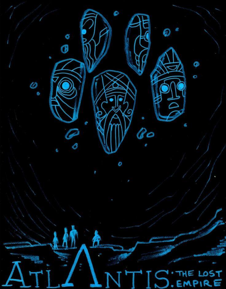 Atlantis: The Lost Empire by NicolasRinear.deviantart.com on @deviantART