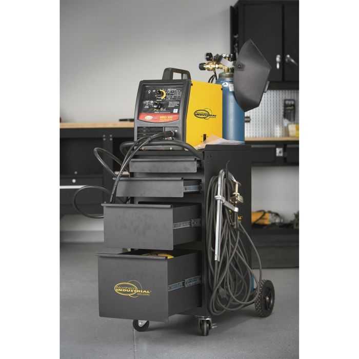 Finally a place for all of that welding gear! Northern Industrial Welders Deluxe Welding Cabinet