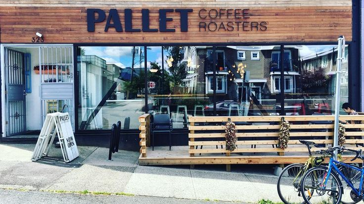 Seems @palletcoffee heard our wish...their new patio will get to know us well this season.  #districtlocal #Vancouver #veryvancouver #cafeyvr #coffeeculture #eastvan #twitter
