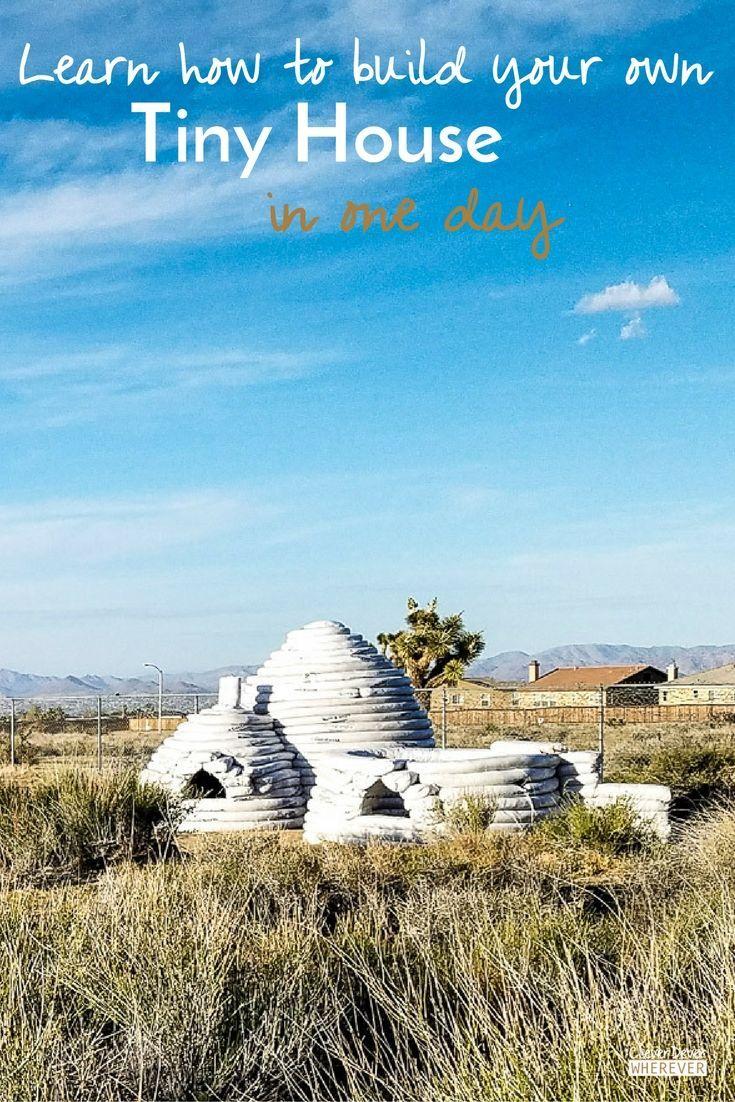 Volunteerism | Cal-Earth | Visit California | Tiny House | Tiny Home