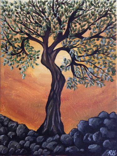Rebecca Ganzak Olive Tree
