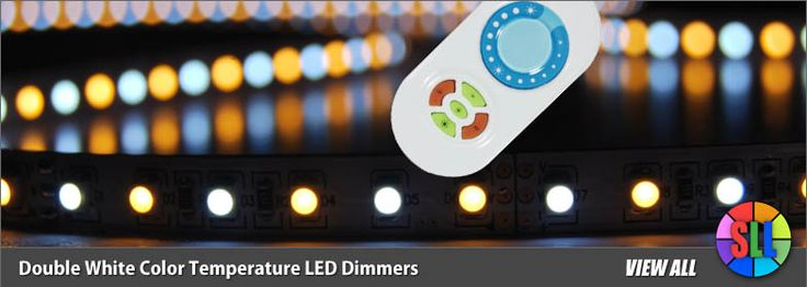 Dual White Color LED Dimmers