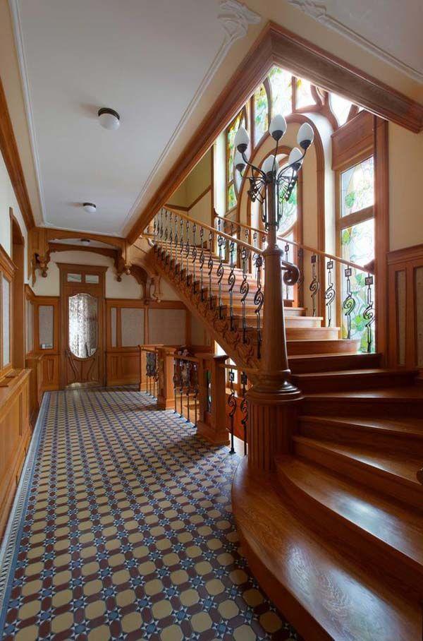 modern art art nouveau and art nouveau architecture on. Black Bedroom Furniture Sets. Home Design Ideas