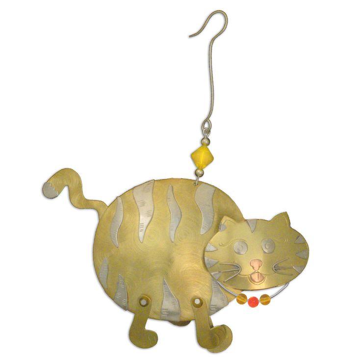 Ручной работы Бенджи Cat Смешанные Металлы Украшение Таиланд | eBay