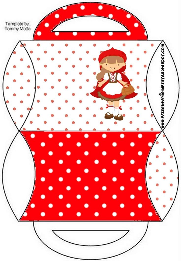 Caixa Chapeuzinho Vermelho