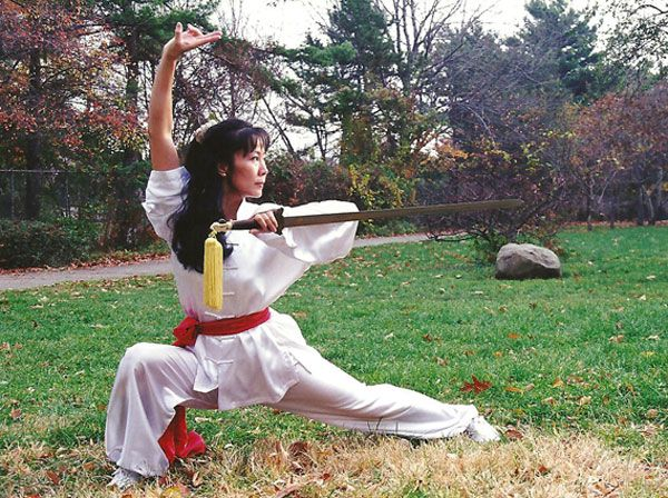 sword dancer pose