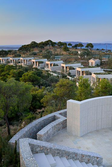 Amanzo'e, Porto Heli, Greece. Someday I wanna visit every single Aman Resort!!
