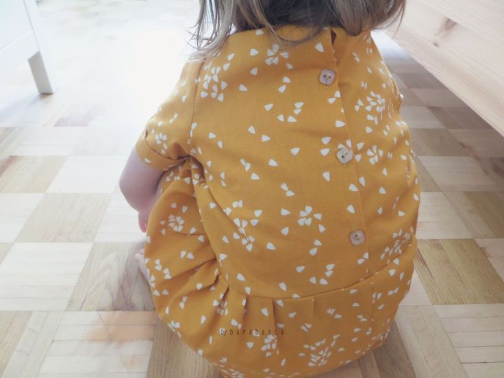 BARABASCA MADE: Od maminky pro dcerku  dress for my girl