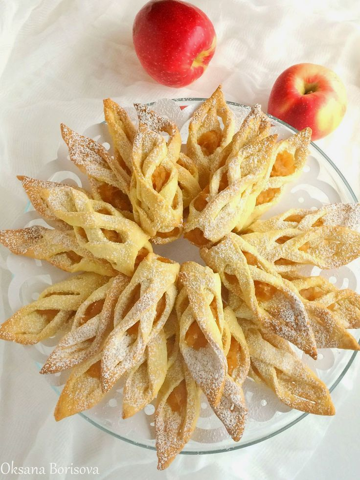"""Кулинарные моменты: Печенье """"Яблочные Башмачки"""""""