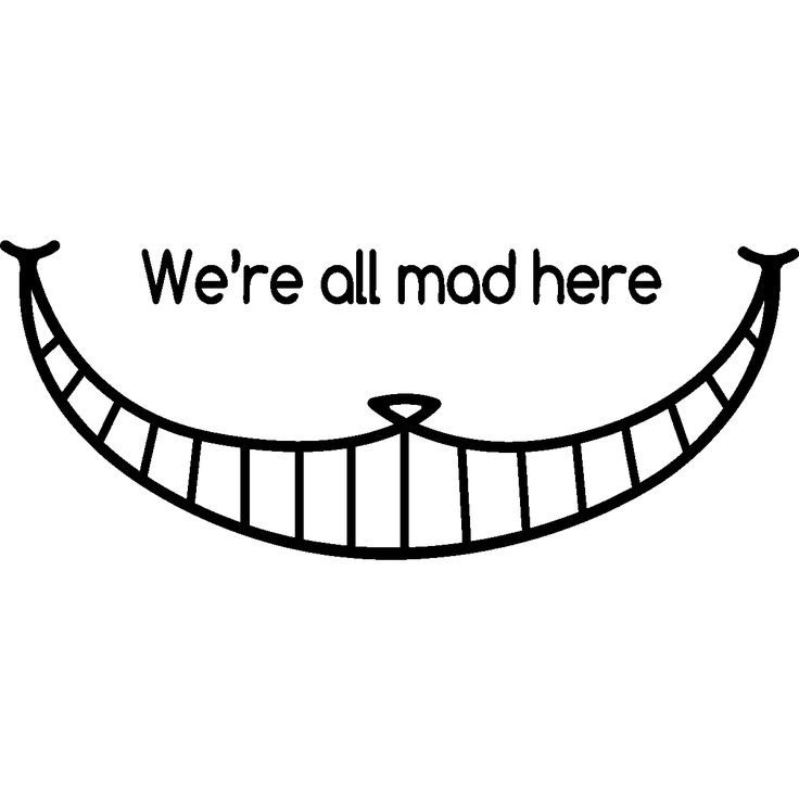wall decals for kids cheshire cat smile wall decal ambiance