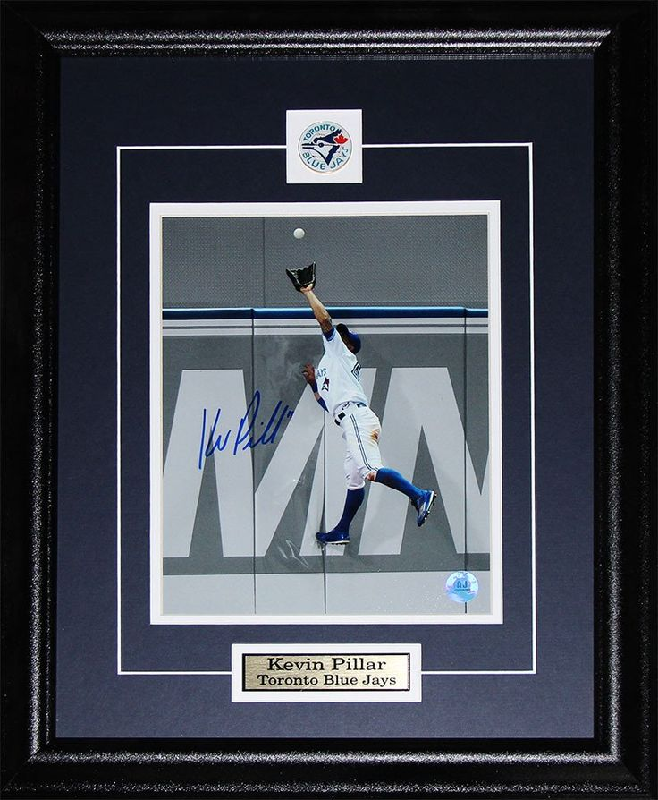 Kevin Pillar Toronto Blue Jays Signed 8x10 Photo Framed $250.00 plus tax