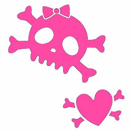 girlie skull | girly skull tattoo | Gallery Best Tattoo
