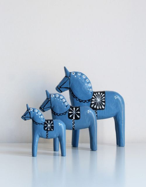 Buy these wonderful Swedish wooden horses at the Touch of Sweden store