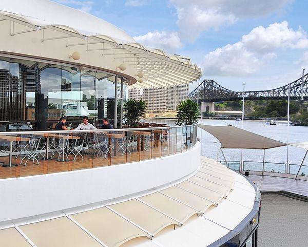 Bavarian Bier Café Eagle Street Pier restaurant  德國豬腳@Riverside