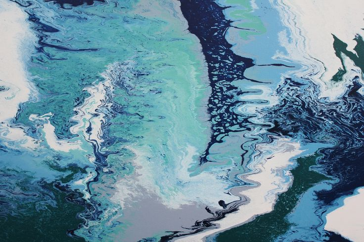 Close up shot of OCEAN WAVES by Jacquie Davidson