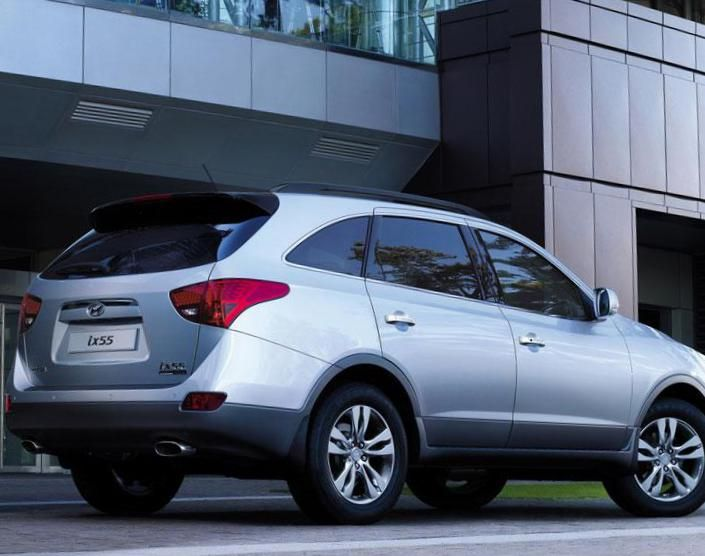 Hyundai ix55 (Veracruz) Specifications - http://autotras.com