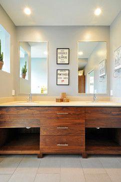 Mid Century Modern - midcentury - bathroom - austin - TAS Construction