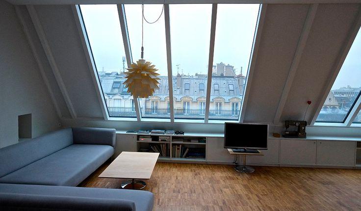 ber ideen zu dachgeschosswohnung auf pinterest dachschr ge dachschr genschrank und. Black Bedroom Furniture Sets. Home Design Ideas