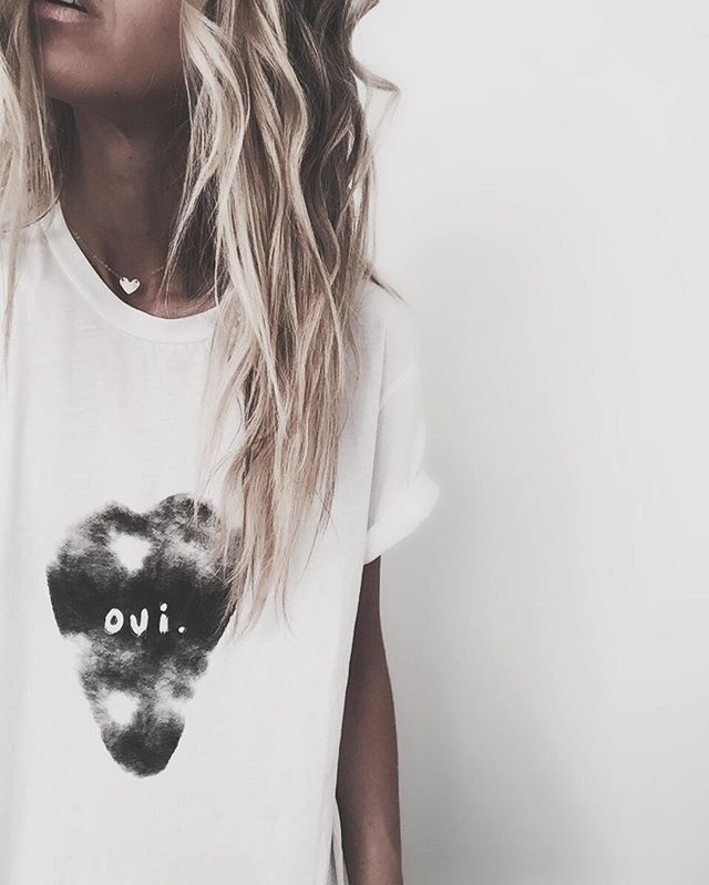 OUI ❤️ • mini heart choker