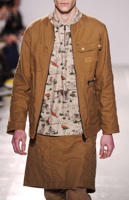 White Mountaineering F/W 2016 Menswear Paris Fashion Week