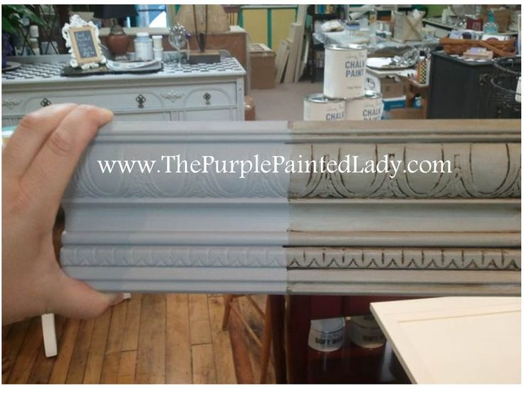 "SHOP - CHALK PAINT :: ""Paris Grey"" Chalk Paint® by Annie Sloan :: $39.95/qt + $8 shipping 