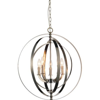 Delroy 5-Light Candle-Style Chandelier