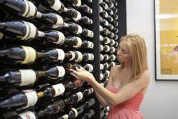 Side On Wine Racks   Centaur Cellars
