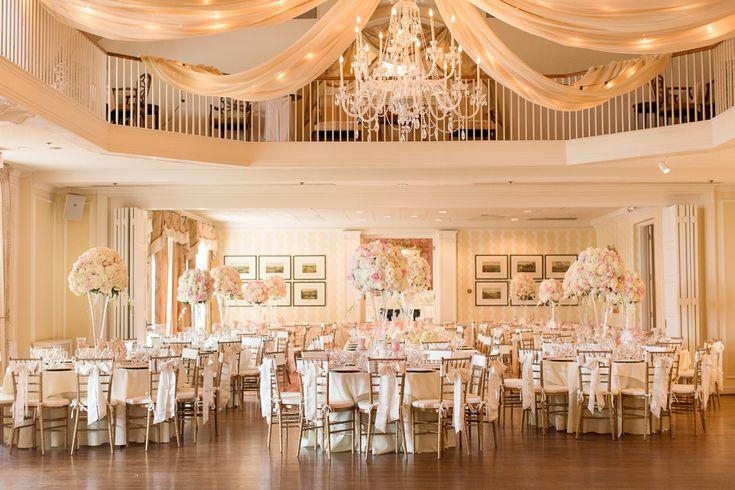 A Classic Country Club of Virginia Wedding in Richmond Virginia Photos. Black Tie Wedding Reception.