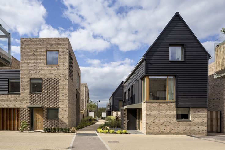 RIBA East Award 2015, RIBA East Project Architect of the Year - sponsored by Lafarge Tarmac, and RIBA East Building of the Year - sponsored by ET Clay Products Ltd: Abode, Great Kneighton by Proctor and Matthews