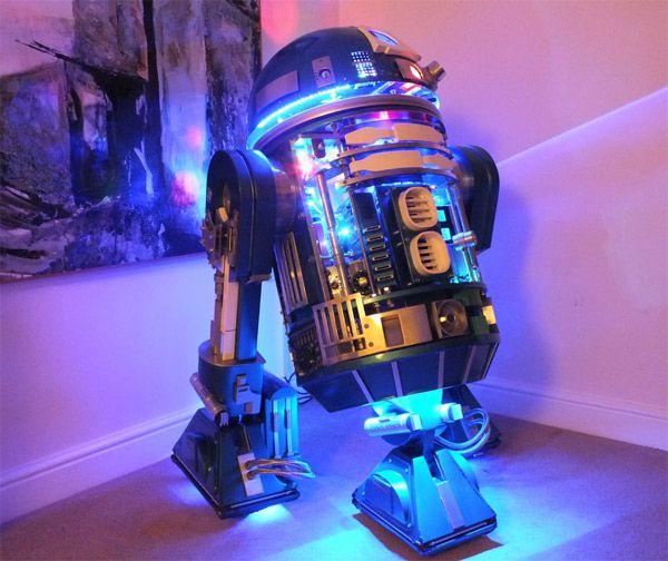 Une impressionnante réplique d'R2-D2 nommée Zoe