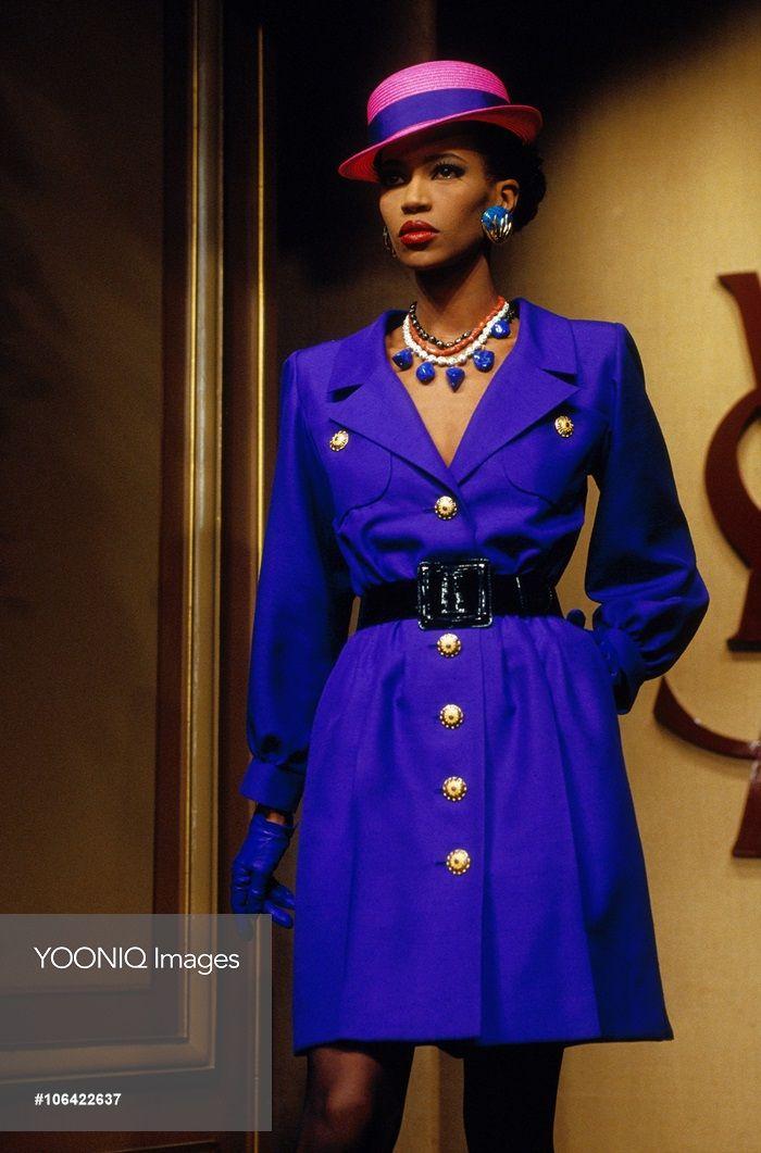 Yves Saint Laurent Spring-Summer 1992 Fashion Show