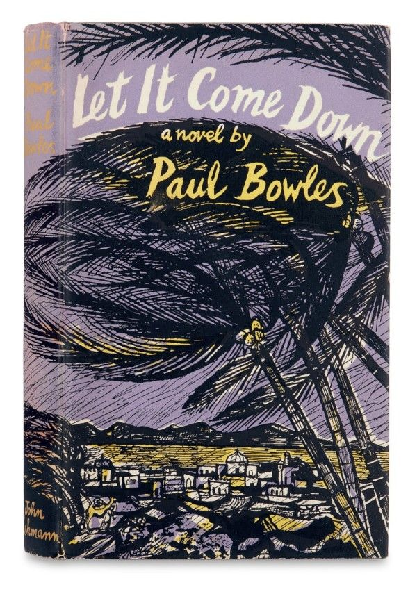 Artist: John Minton    Let It Come Down by Paul Bowles (John Lehmann, 1952)