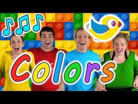Colors Song for Kids - Learn colors with this kids song! - YouTube
