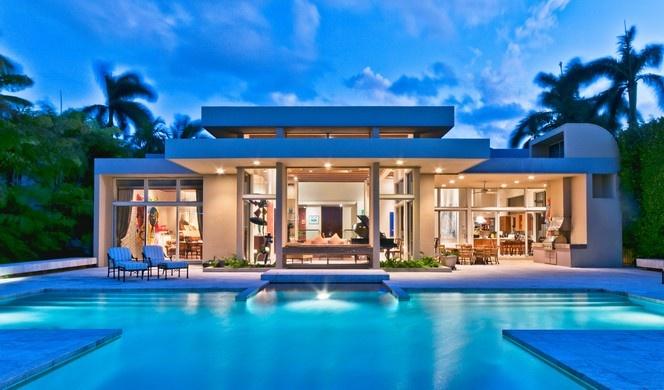 Unique Modern Masterpiece On Sunset Island Miami Beach Fl Luxury Portfolio International Member Esslinger Wooten Pool Perfection Lookbook Pinte