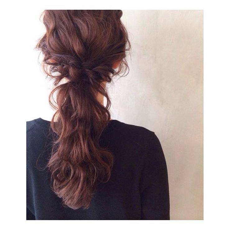ロマンティック 波ウェーブで甘く #hair#hairarrange#hairstyle#arrange#wadamiarrange#ヘアスタイル#ウェディング#ブライダル#ヘアアレンジ#ヘア#アレンジ#ファッション#ヘアメイク#メイク#愛知#名古屋#美容師#美容室#LOREN#lorensalon