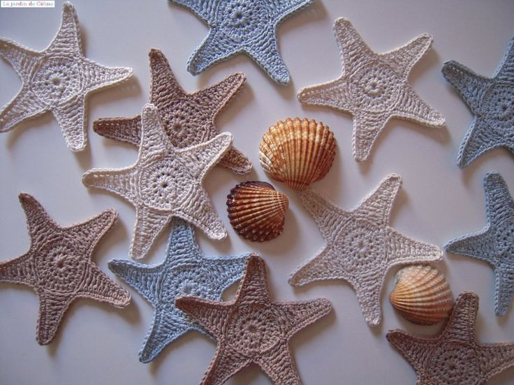 Amigurumi Starfish Pattern : 26 best images about Summer Crochet on Pinterest ...