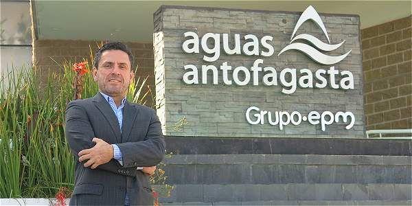 Fredy Zuleta, gerente de Aguas de Antofagasta.