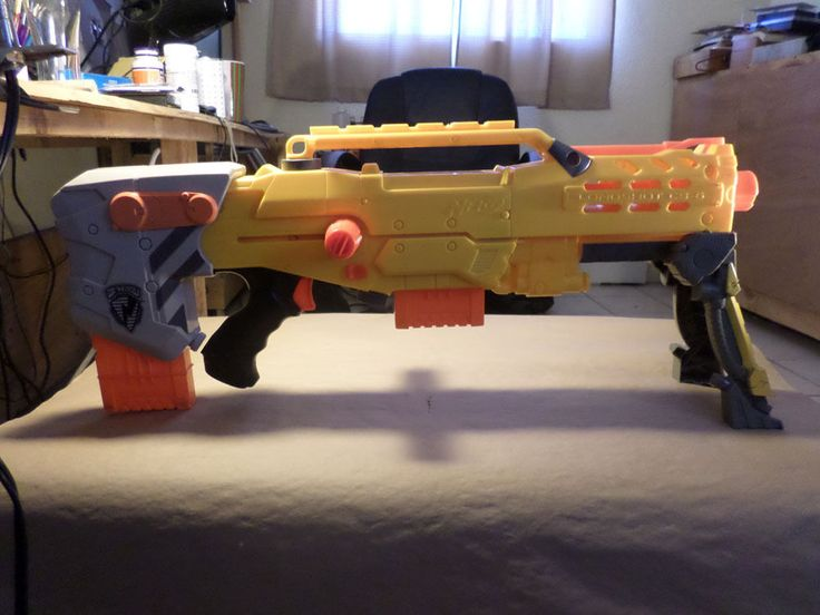Nerf Longshot CS 6 w Extra Ammo Clip   eBay