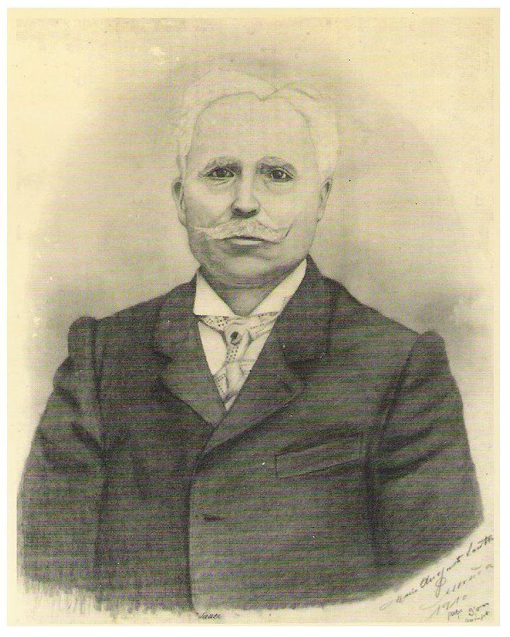 1910  Desenho a carvão sobre papel (67,5 x 51 cm)