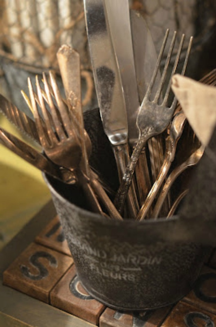Cutlery.. Something so everyday can be So beautiful displayed in such imaginative ways!!