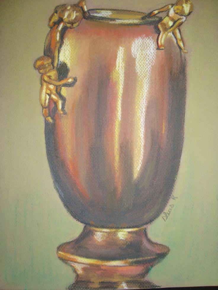 Dibujo al carboncillo, realizado por Alicia Ruiz