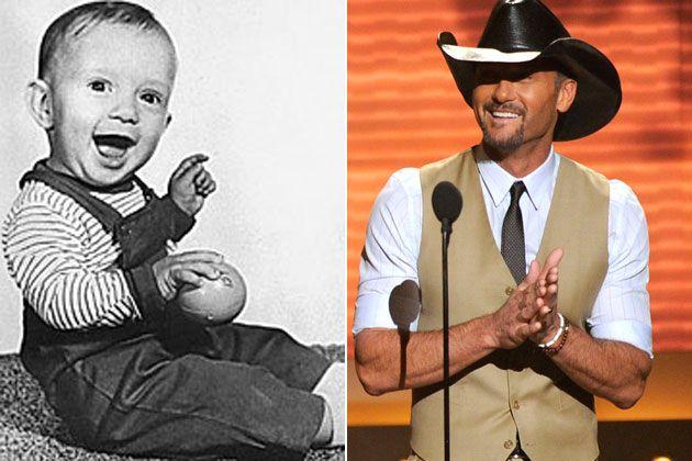 Tim McGraw as a Kid