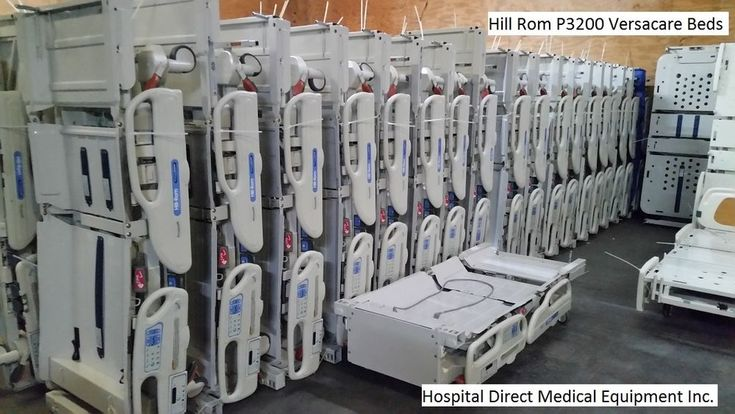 (5) Hill Rom P3200 Versacare Hospital Beds for Sale  PACKAGE DEAL #HillRom