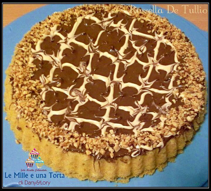 TORTA NUTELLINA RICETTA DI: ROSSELLA DE TULLIO INGREDIENTI: 100 g farina 100 g zucchero 100 g burro morbidissimo 3 uova 1 fialetta aroma vaniglia